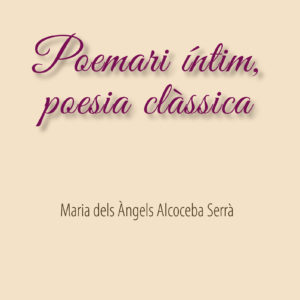 Portada Poemari Intim M Angels copia